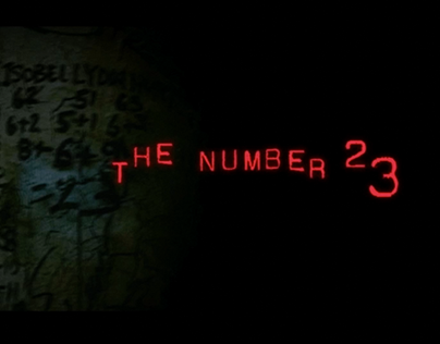 The Number 23 - Title Sequence