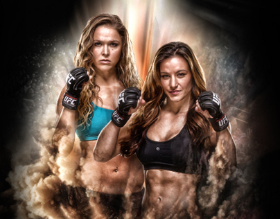 Ronda Rousey y Miesha Tate