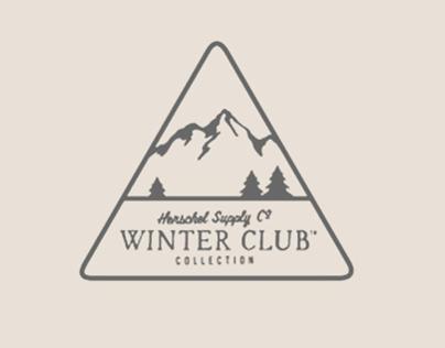 Herschel Supply Co Winter Club – Branding