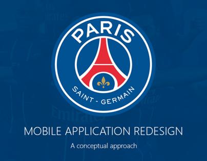 PSG - Mobile Application Concept