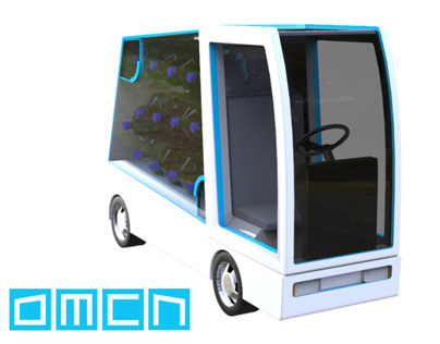 """DMCN"" - Electric Car Design Concept"