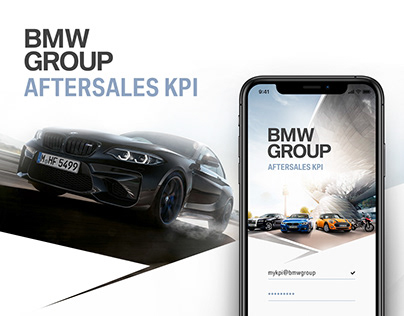 BMW Group Aftersales KPI - mobile app