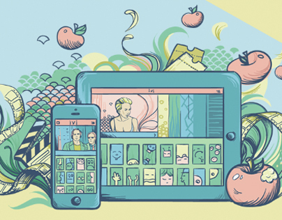 Illustrations for landing pages