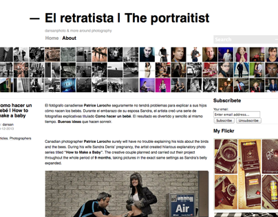 El retratista | The portraitist