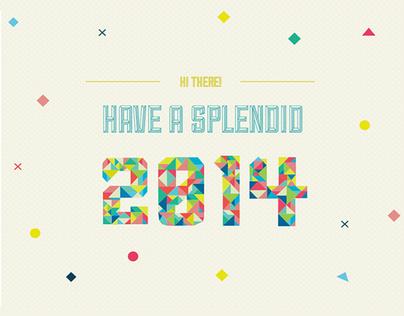 Have a Scroll/Splendid 2014