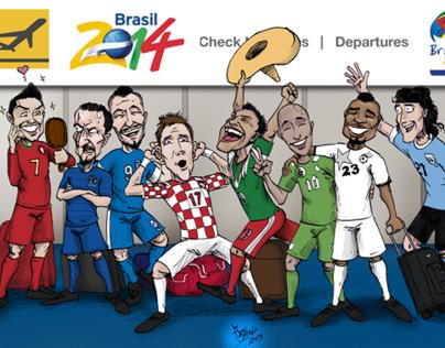 Últimos Clasificados Brasil 2014