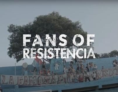 FANS OF RESISTENCIA
