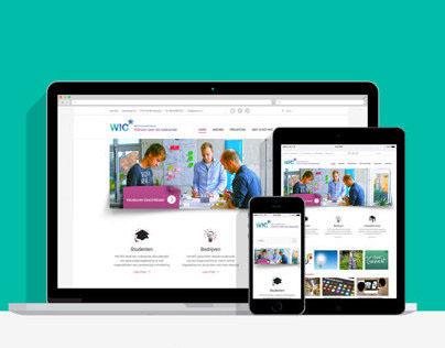 Het WIC responsive website