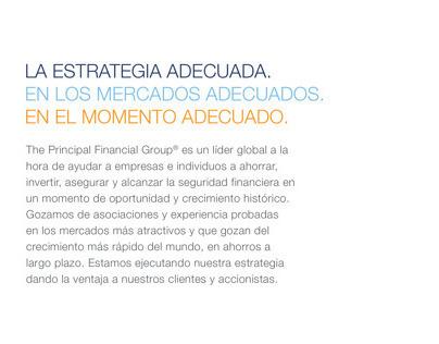 Principal Financial Annual Report - Spanish Translation