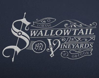 Swallowtail Vineyards Logo Progression