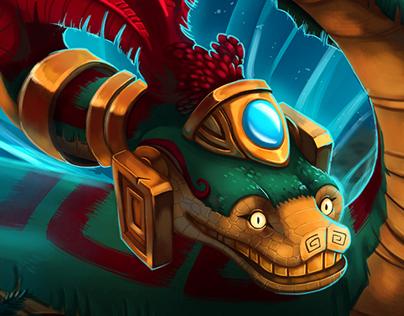 Aztec battle - process