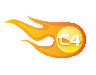 C4 Hot Wheels Club Logo