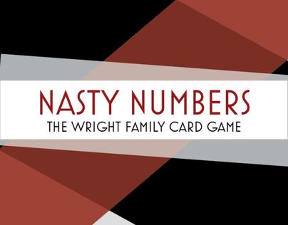 Nasty Numbers Card Game
