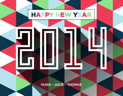 I wish you a wonderful new year !
