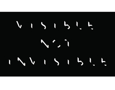 VISIBLE TYPEFACE