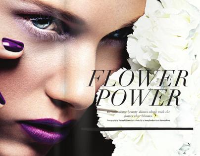 Flower Power - For VELVET Magazine