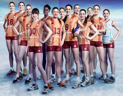 Galatasaray Volleyball Team