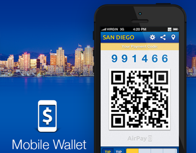 Mobile Wallet app (iOS 6 version)