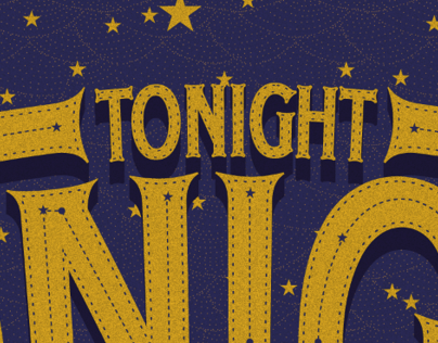 Tonight Tonight Typography