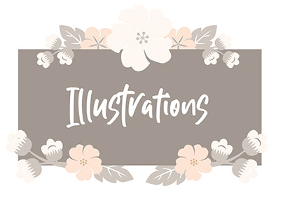 Illustrations - Paintings and Sketches
