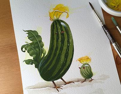 Daily Watercolours - Part Deux