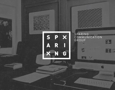Sparing Communication Group - Rebranding