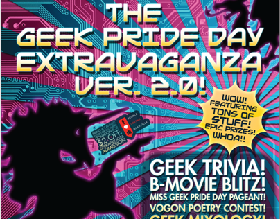 Geek Pride Day II Event Poster