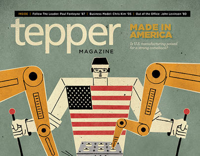 Tepper Magazine, Fall 2012, Print Edition