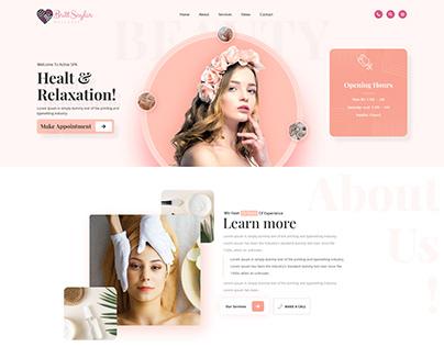 Spa Beauty Website