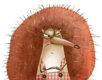 Grumpy hedgehog