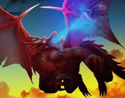 Red Dragon vs White Knight
