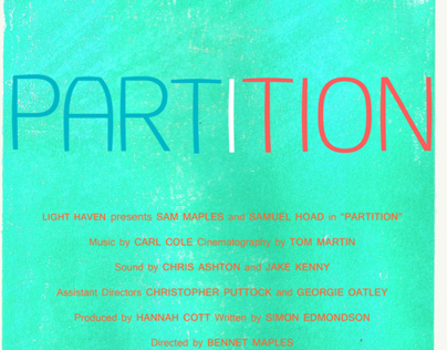 'Partition' film poster