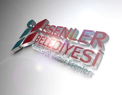 Esenler Municipality Logo Presentation (2013)