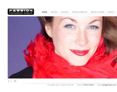 Passion - Minimal Portfolio WordPress Theme