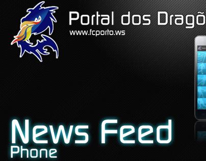 Portal dos Dragões News Feed Mobile App