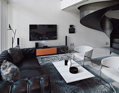 Azaléia House - Study 3D