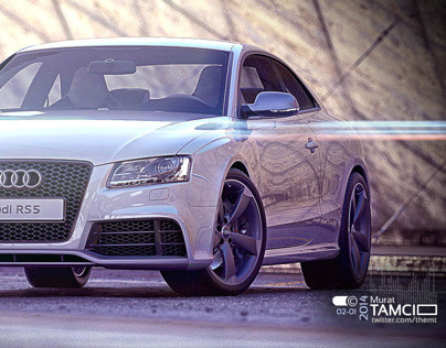 Audi RS 5 Retouch