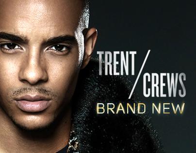 Trent Crews 'Brand New' Album Packaging / Art Direction