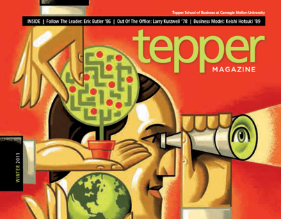 Tepper School Alumni Magazine, Winter 20011