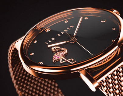 Ted Baker - CGI Watches Animation