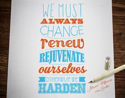 Quote design: Motivational Mondays