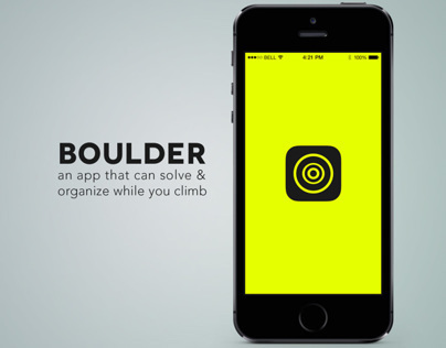 Bouldering App