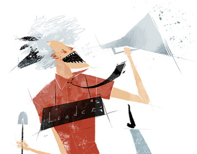 Illustrations for the Forbes Woman UA magazine (part 3)