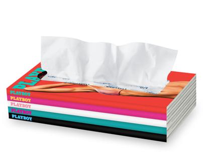 Playboy tissue box cover