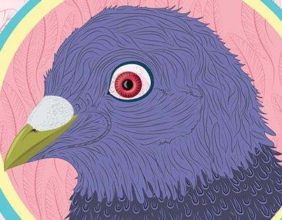 paranoid pigeon
