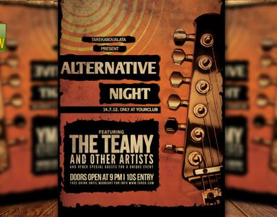 Alternative Night Flyer