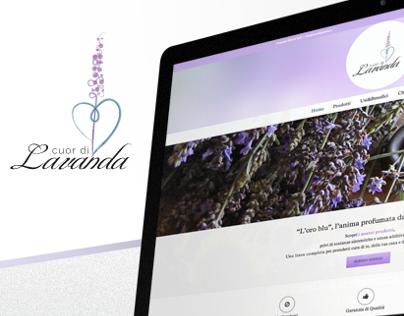 Cuor di Lavanda // Logo + Branding + Website
