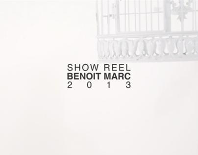 Showreel 2013 - Benoit Marc