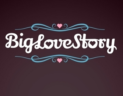 Logo for Big Love Story