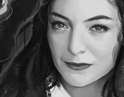 Lorde Speed Painting
